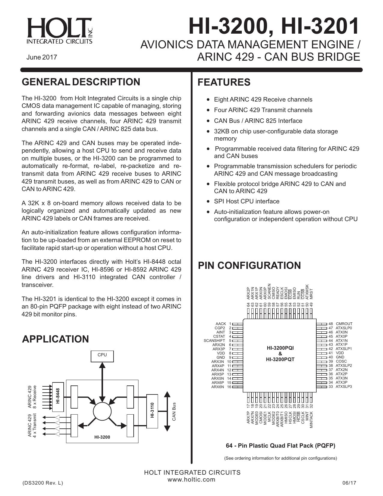 hight resolution of hi 3200 hi 3201 holt integrated circuits