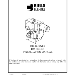 beckett burner wiring oil burner r35 series installation manual manualzz com on power flame burner wiring diagram  [ 1275 x 1651 Pixel ]