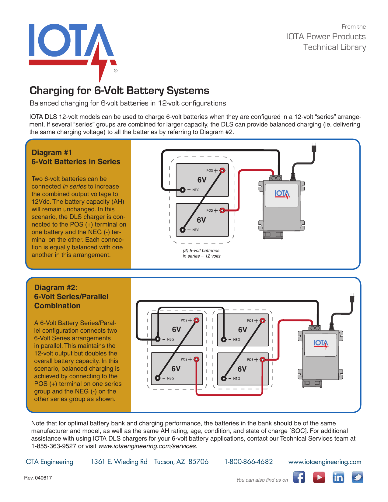 hight resolution of charging for 6 volt battery systems
