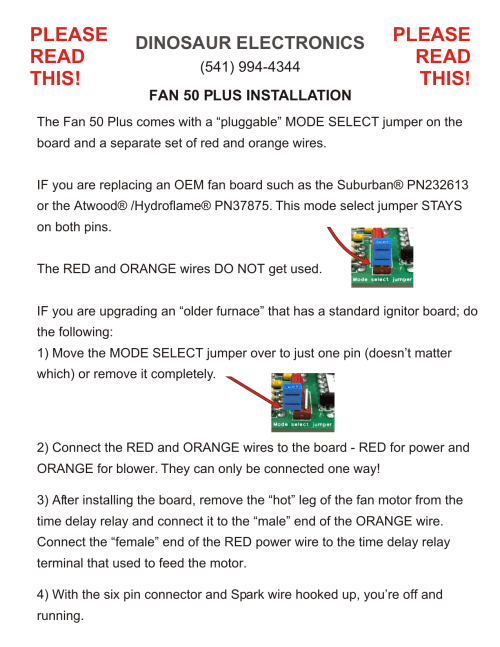 small resolution of  fan 50 plus installation manualzz com furnace time delay relay wiring on furnace blower