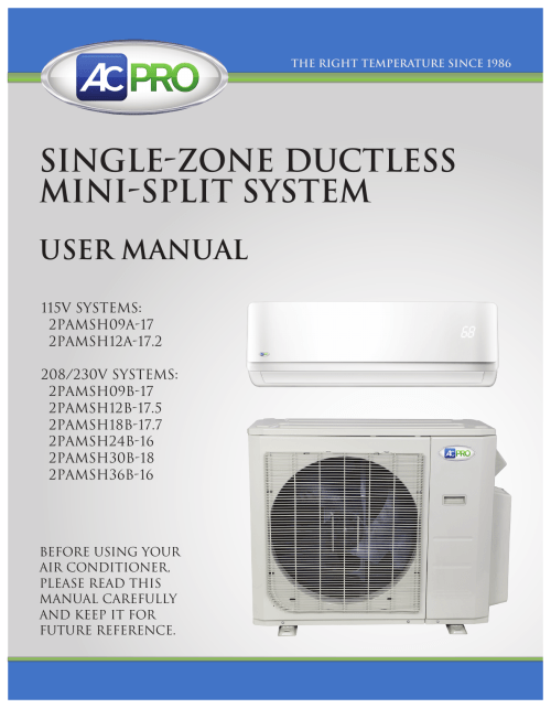 small resolution of single zone ductless mini split system