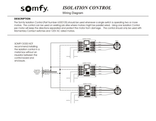 small resolution of isolation control blind shade motors