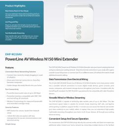 powerline av wireless n150 mini extender [ 1241 x 1754 Pixel ]