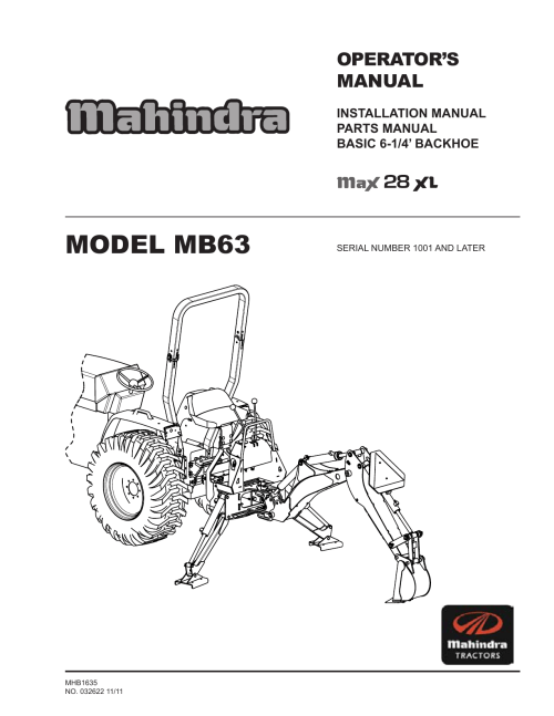 small resolution of model mb63 distribution jpb