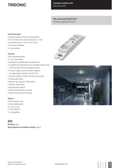 small resolution of clever tridonic emergency ballast wiring diagram led driver best emergency lighting units em converterled basic