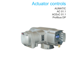 operation instructions actuator controls aumatic ac 01 1 acexc [ 1240 x 1755 Pixel ]