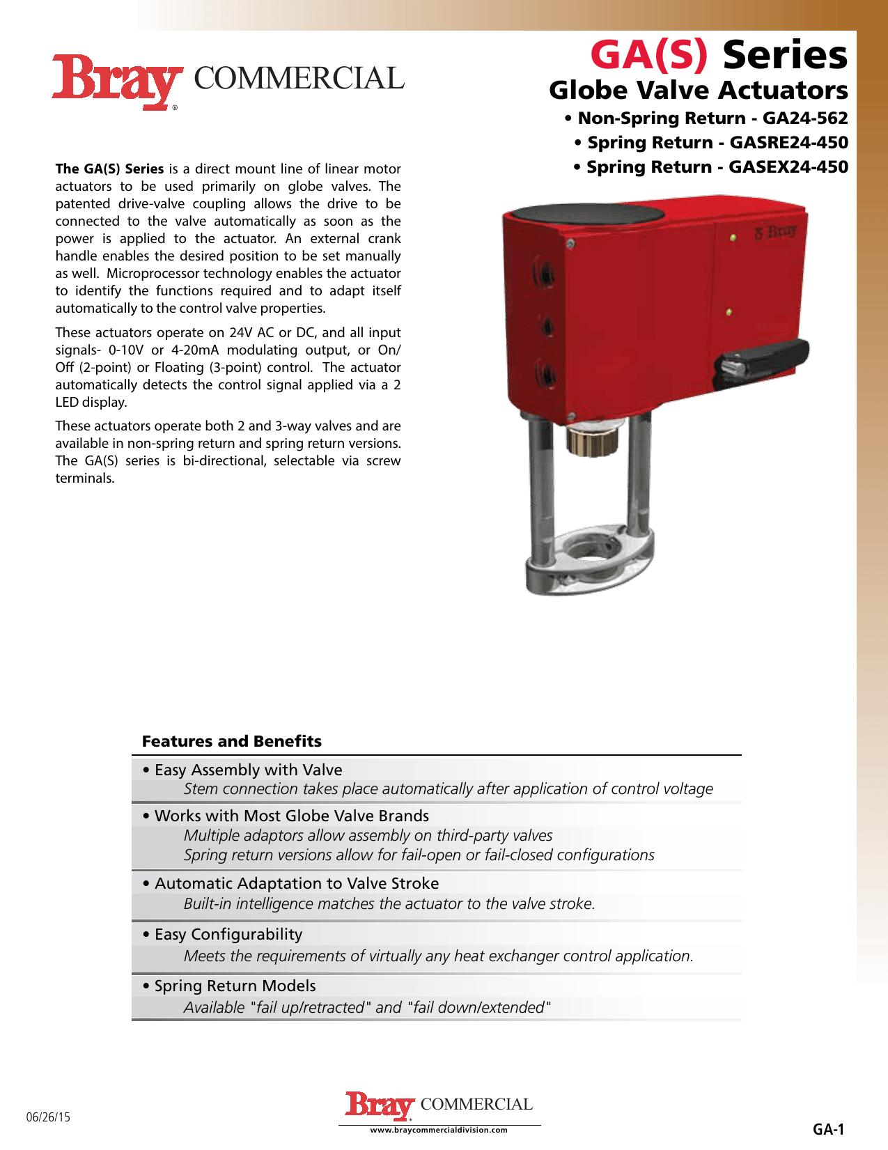 hight resolution of ga s series globe valve actuators