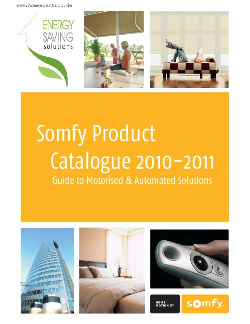 small resolution of somfy product catalogue 2010 2011