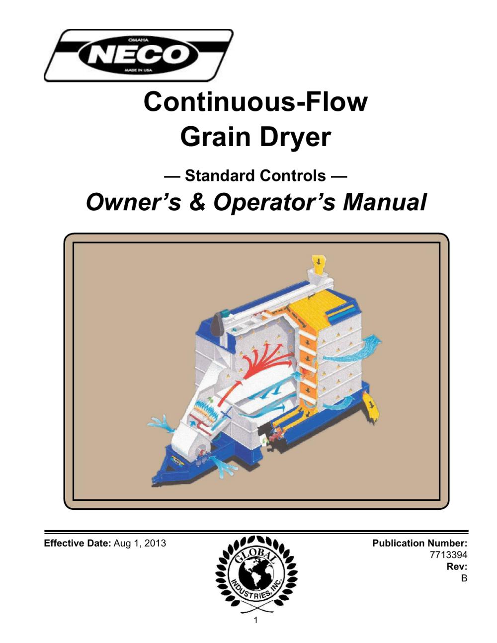 medium resolution of continuous flow grain dryer