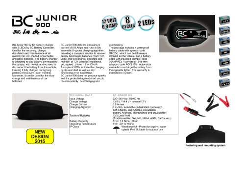 small resolution of bc junior 900 is the battery charger with 2 leds by bc battery