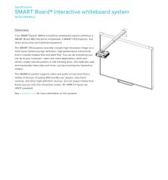 smart board 480iv2 interactive whiteboard system [ 1275 x 1651 Pixel ]