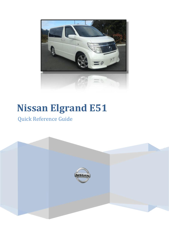 medium resolution of nissan elgrand e51 fuse box wiring librarynissan elgrand e51 fuse box