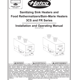 sanitizing sink heaters and food rethermalizers bain [ 1275 x 1651 Pixel ]