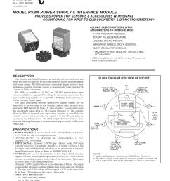 psma data sheet manual pdf [ 1275 x 1651 Pixel ]