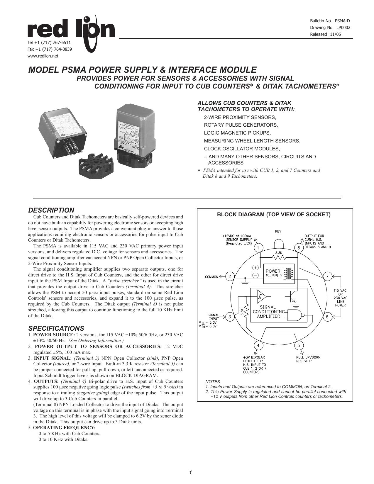 hight resolution of psma data sheet manual pdf