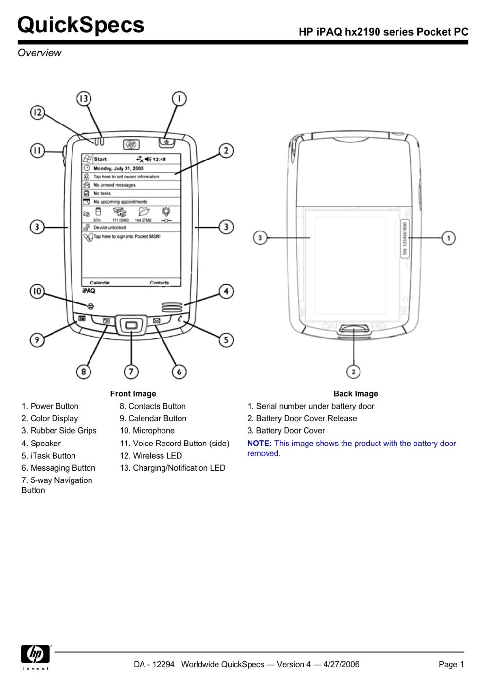 medium resolution of  manual array hp ipaq hx2190 series pocket pc manualzz com rh manualzz