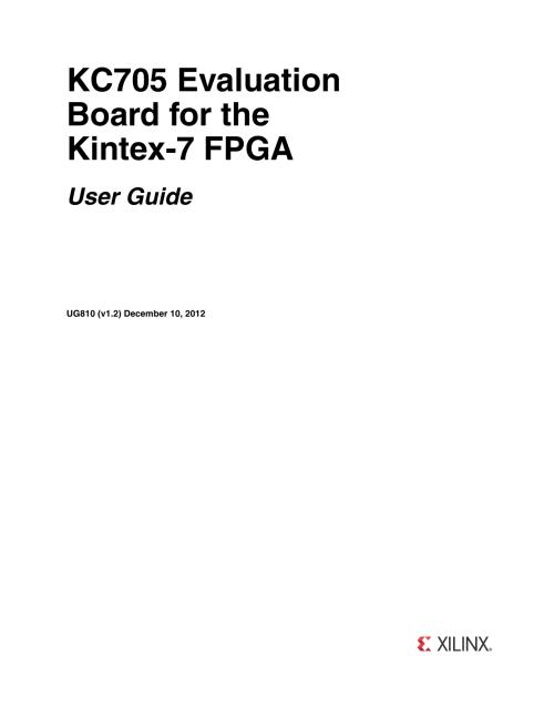 small resolution of xilinx ug810 kc705 evaluation board for the kintex 7