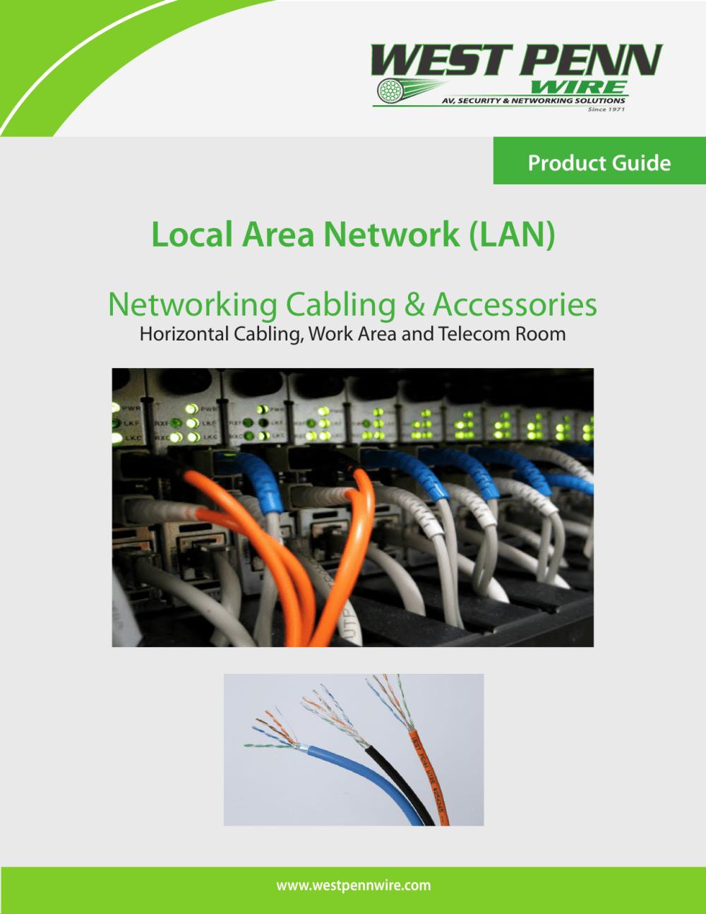medium resolution of lan west penn wire
