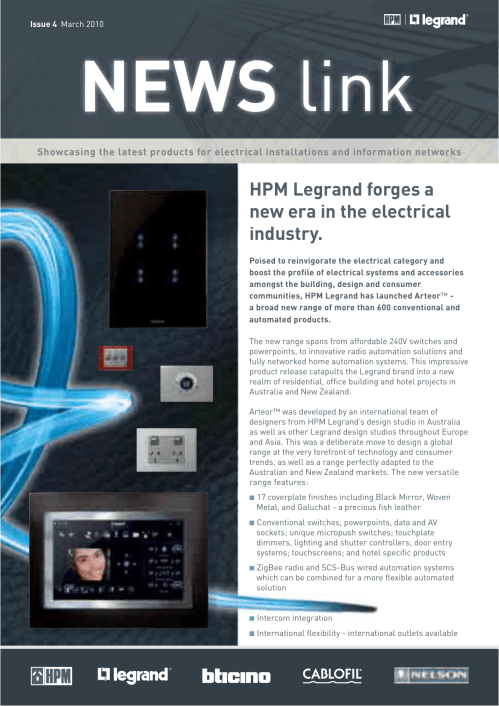 small resolution of hpm legrand forges a new era in the electrical