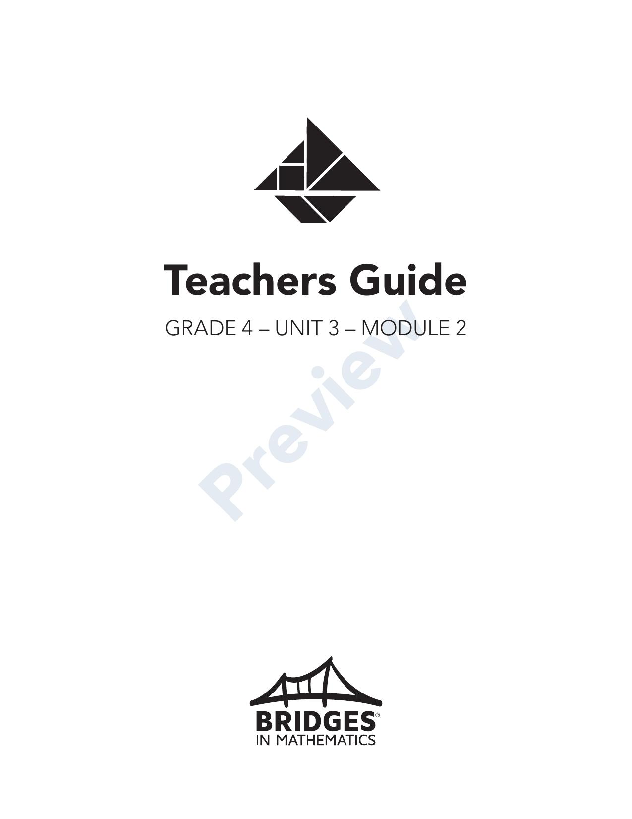 hight resolution of Bridges in Mathematics Grade 4 Teachers Guide   Manualzz