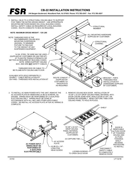 small resolution of cb 22 installation instructions cb 22 installation instructions manualzz com
