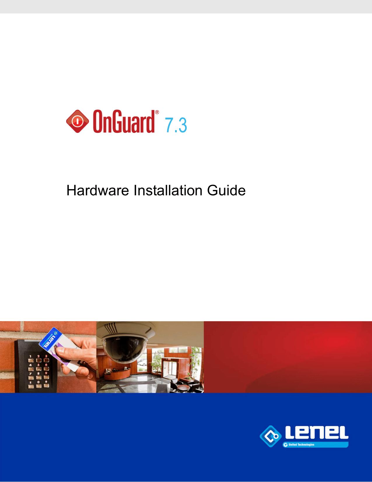 hight resolution of hardware installatio