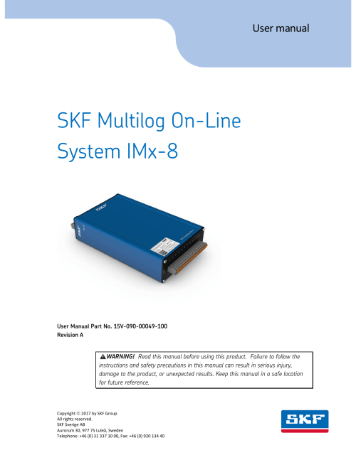 small resolution of skf multilog on line system imx 8