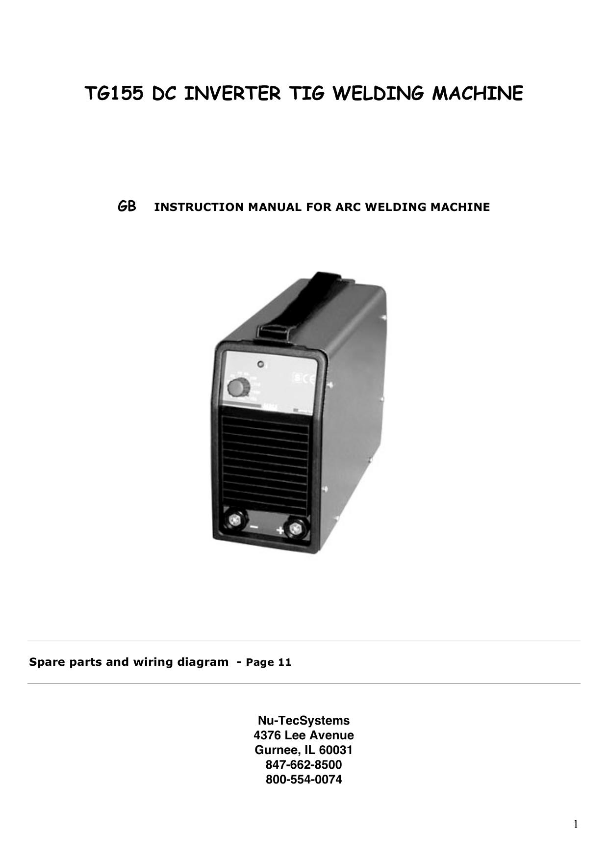 hight resolution of tg155 manual cornwell tools