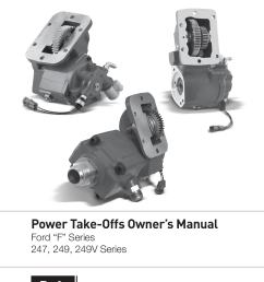 power take offs owner s manual [ 1275 x 1651 Pixel ]