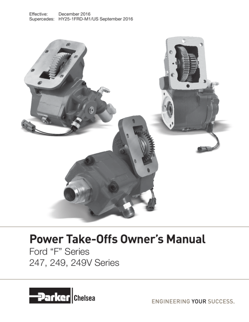 small resolution of power take offs owner s manual