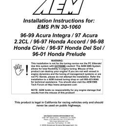 aem 30 1060 ignition kit installation instructions [ 1275 x 1651 Pixel ]