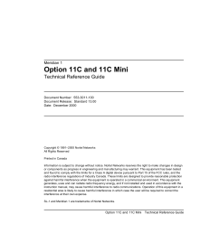 M1 R25 Option 11C and 11C Mini Technical Reference Guide   Manualzz [ 1651 x 1275 Pixel ]
