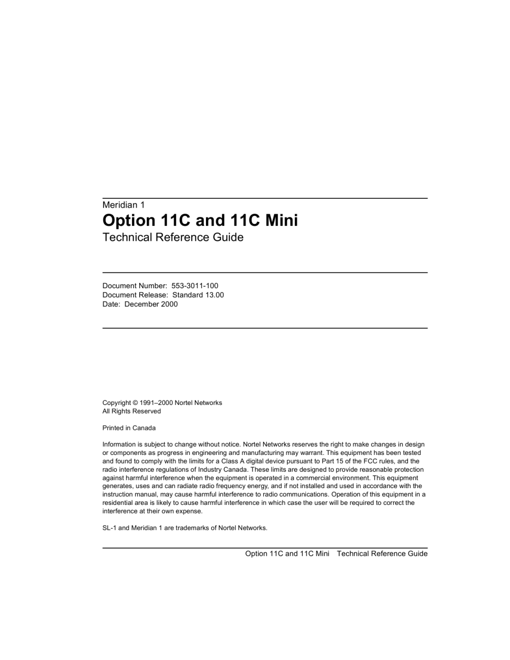 medium resolution of M1 R25 Option 11C and 11C Mini Technical Reference Guide   Manualzz