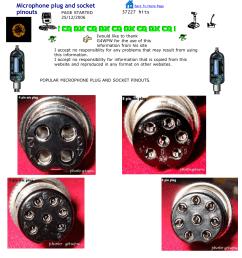 microphone plug and socket pinouts [ 1275 x 1651 Pixel ]