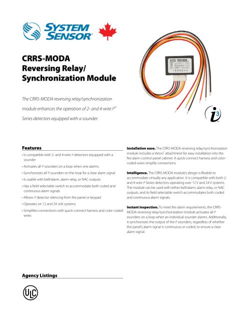 small resolution of crrs moda reversing relay synchronization module