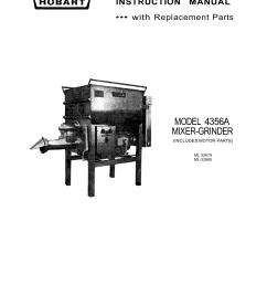 model 4356a mixer grinder [ 1277 x 1652 Pixel ]
