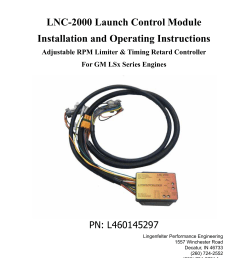 lnc 2000 launch control module installation and operating [ 1275 x 1651 Pixel ]