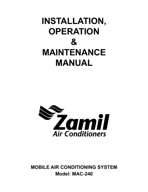 small resolution of pds iom zamil air conditioners