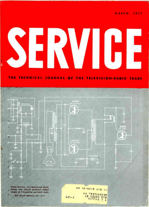 small resolution of the technical journal of the television radio trade