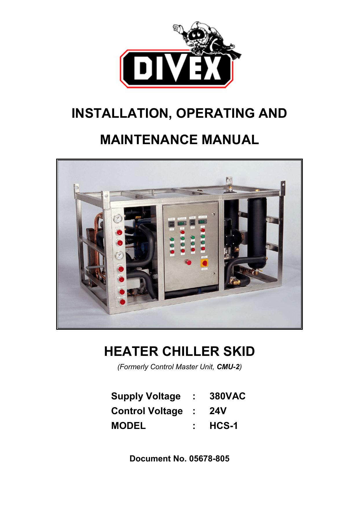 hight resolution of installation operating and maintenance manual heater chiller skid