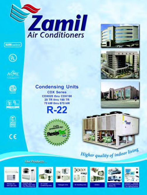 small resolution of cdx series pmd zamil air conditioners