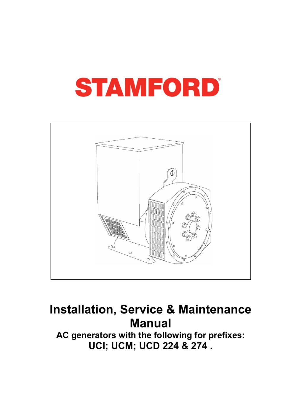 medium resolution of manual stamford uc22 powertech engines inc
