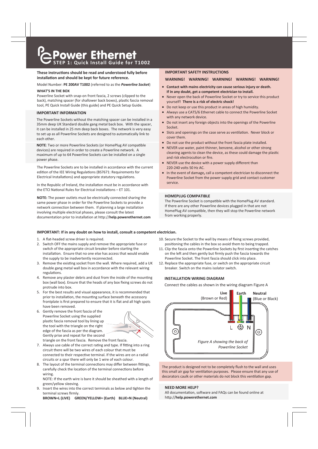 hight resolution of step 1 quick install guide for t1002