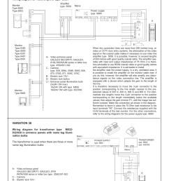 variation 36 standard video door entry system wiring diagram [ 1240 x 1755 Pixel ]