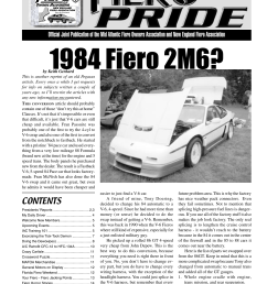 01 september pride indd new england fiero association [ 1275 x 1651 Pixel ]
