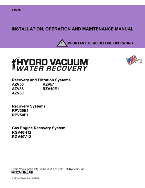 small resolution of 2017 hydro vac operations manual