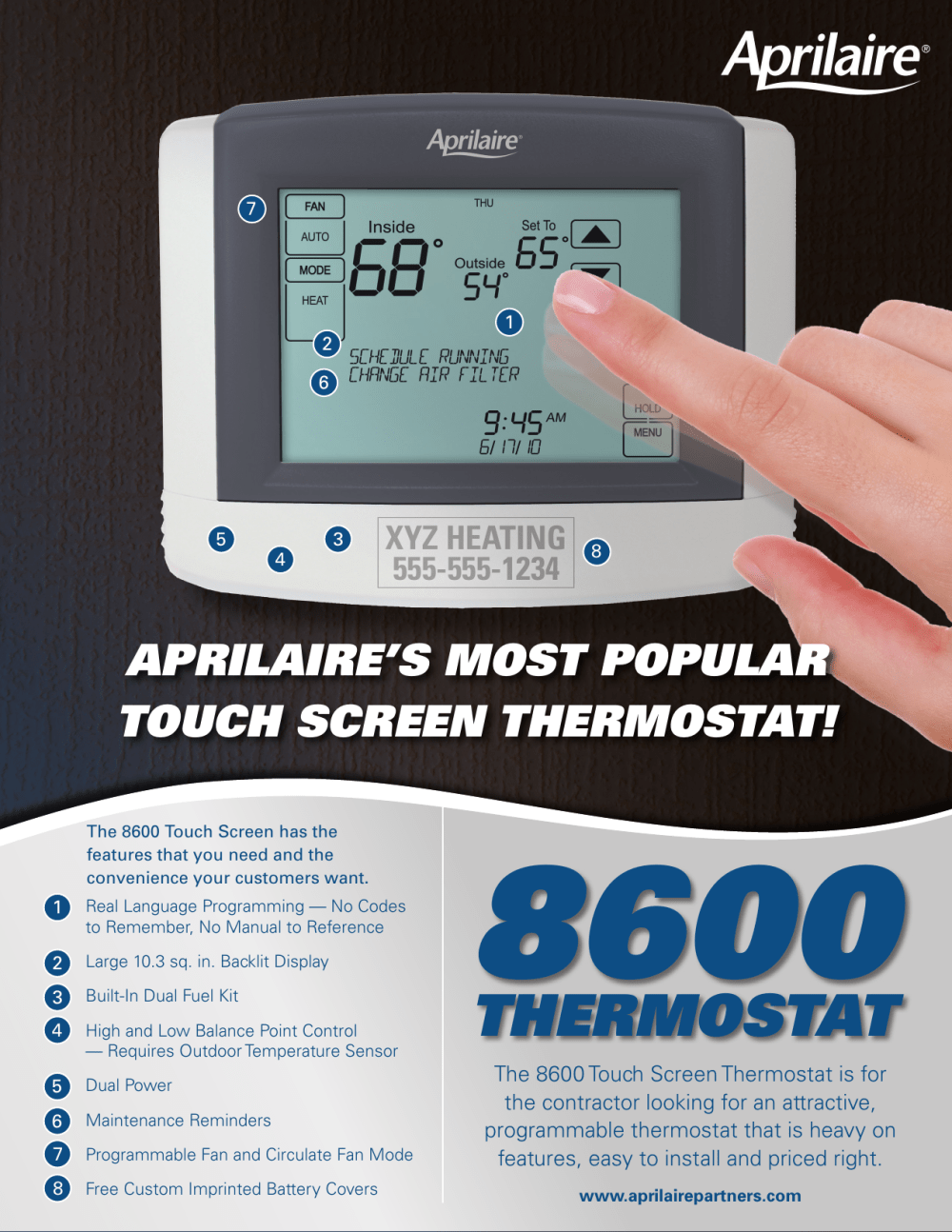 medium resolution of 8600 programmable thermostat wiring diagram
