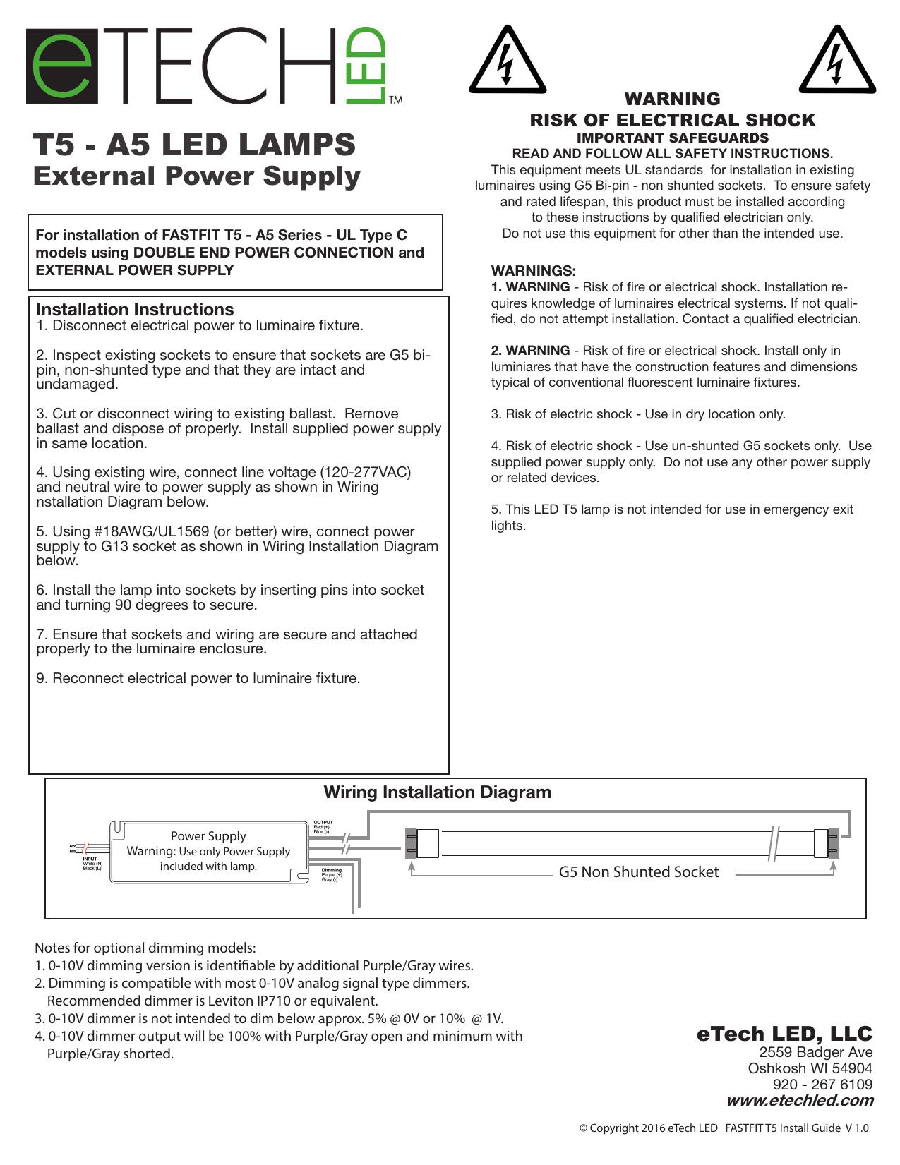hight resolution of installation sheet