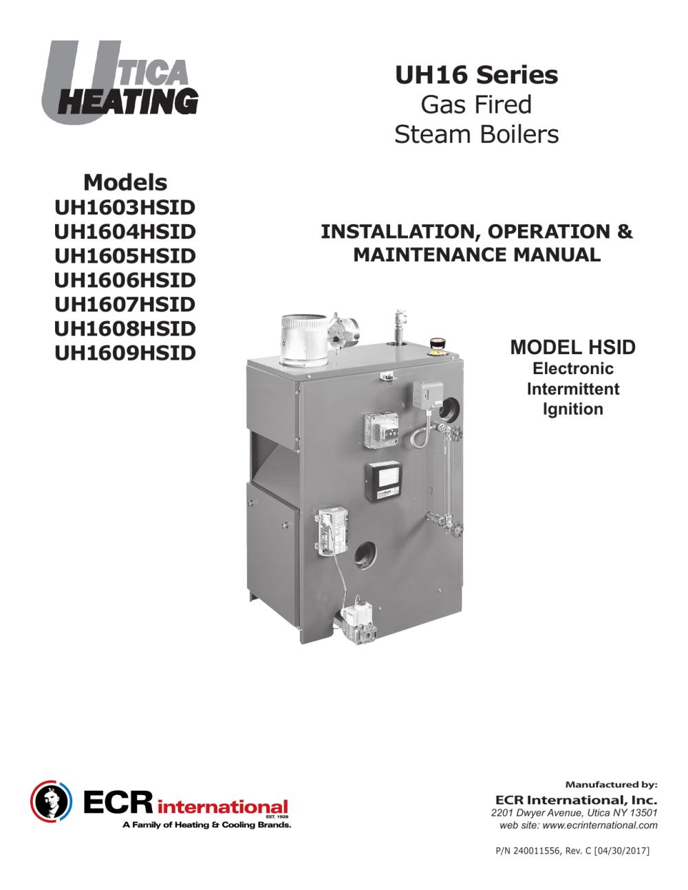 medium resolution of utica heating 16 series iom rev c