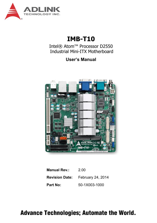 hight resolution of imb t10 mini itx embedded motherboard